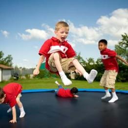 Tappeto elastico per bambini